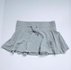 Abercrombie Mini Skirt Sweatshirt Material Size XS